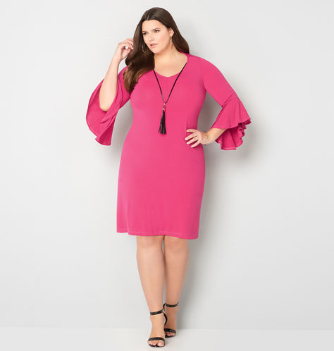 bell-sleeve-tassel-drape-dress-from-avenue-plus