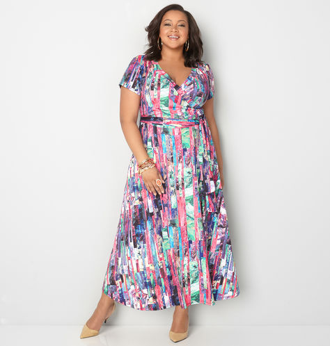 ABSTRACT-MAXI-WRAP-DRESS-from-avenue-plus