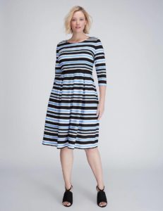 plus-size-striped-fit-and-flare-dress-from-lane-bryant