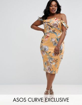asos-curve-scuba-bardot-mini-dress-in-bright-floral