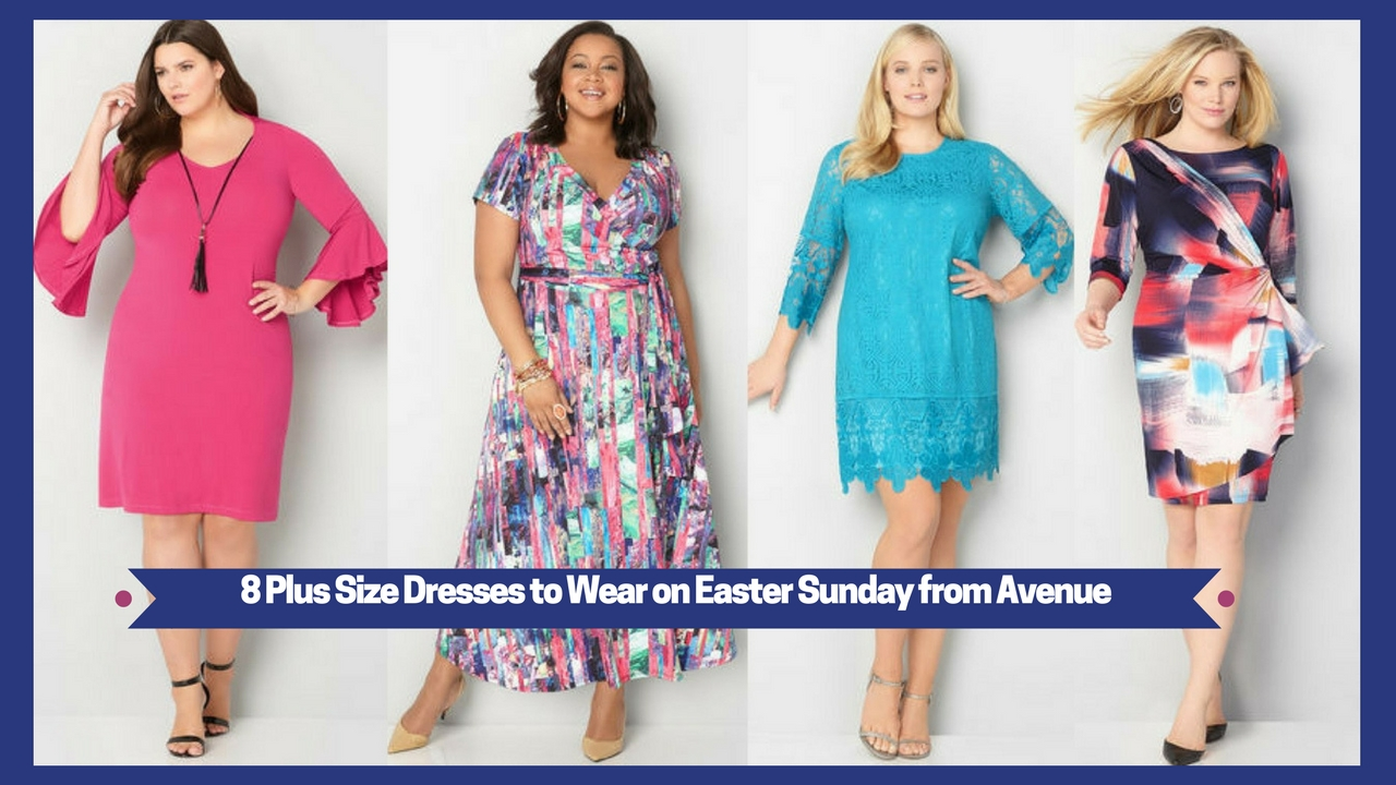 8 Plus Size Dresses to Wear on Easter Sunday from Avenue – Estrella ...