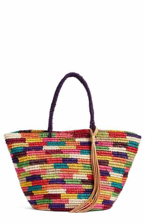 multicolor-straw-tote