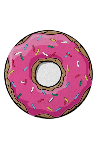 donut-round-beach-towel