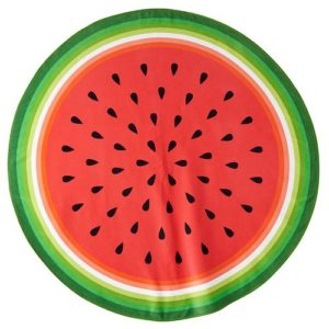 round-watermelon-beach-towel