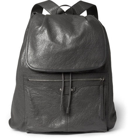 balenciaga-creased-leather-backpack