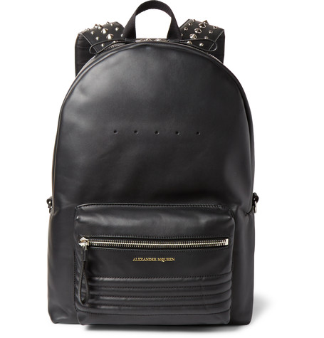 alexander-mcqueen-studded-leather-backpack
