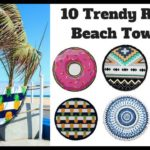 10 Trendy Round Beach Towels