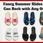 Fancy Summer Slides You Can Rock with Any Outfit
