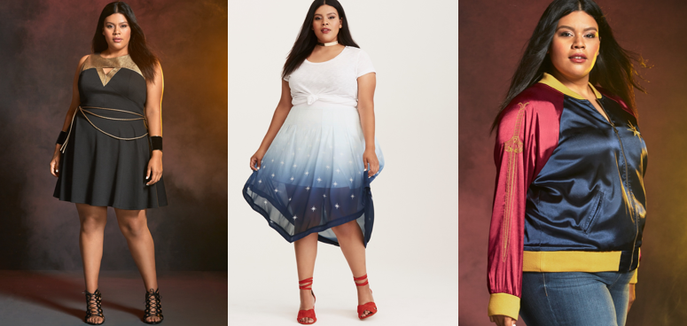 Torrid-wonder-woman-capsule-collection-plus-size-cosplay