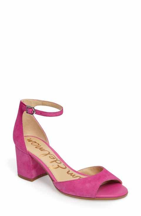 hot-pink-ankle-strap-sandals-sam-edelman-nordstrom-shoes