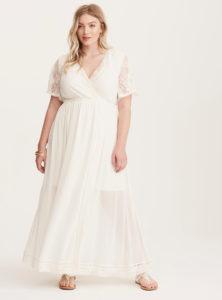 white-plus-size-lace-and-crochet-maxi-dress