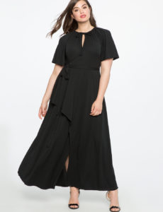 black-plus-size-wrap-maxi-dress