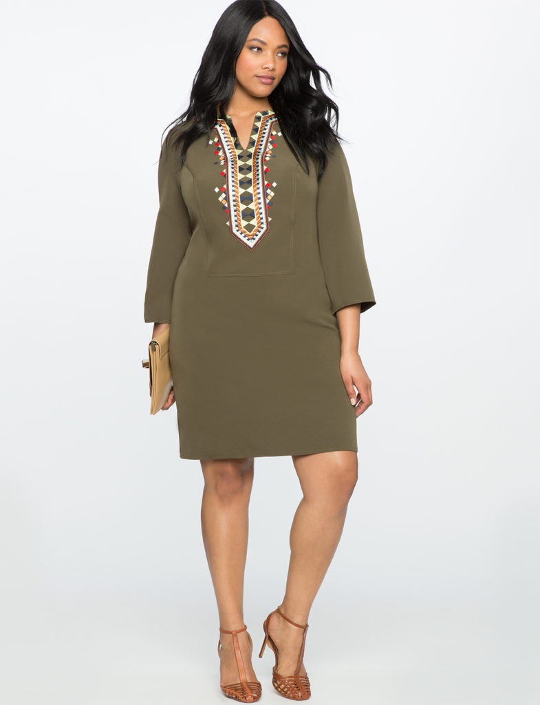 olive-plus-size-embroidered-flare-sleeve-dress-from-eloquii