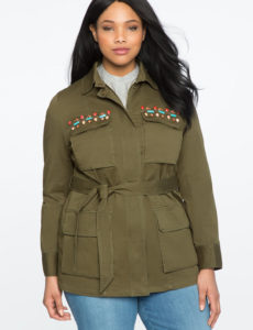 olive-green-plus-size-embellishes-miltary-jacket-from-eloquii