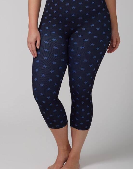 star-printed-legging