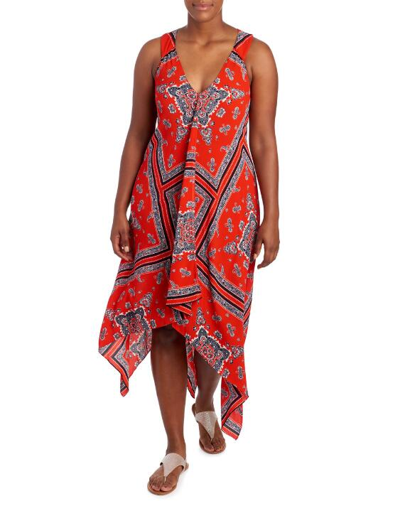 24a69c1f61b OOTD  Feeling Flirty Wearing a Paisley Tiered Tank Dress – Estrella ...
