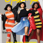 Plus Models Philomena Kwao, Diana Veras and Sabina Karlsson on the Cover of Glassbook Magazine