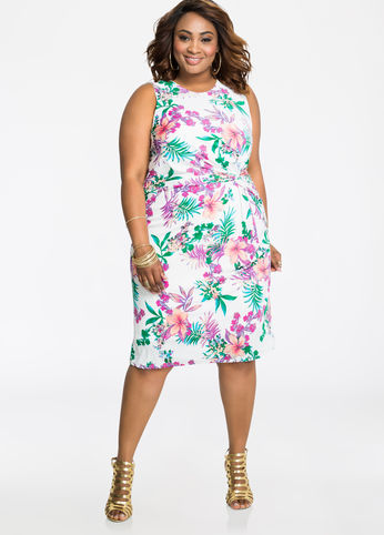 ashley-stewart-tropical-print-plus-size-dress