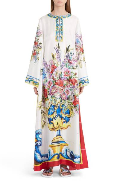 dolce-and-gabbana-print-silk-caftan