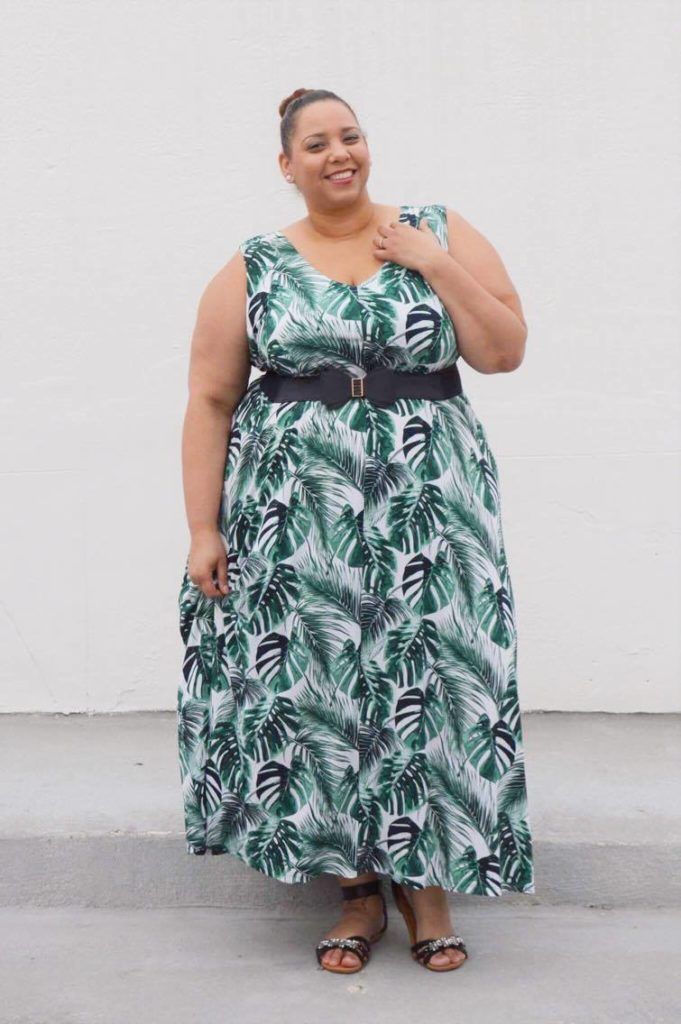 palm-leaf-print-maxi-dress