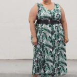 OOTD: Palm Leaf Print Maxi Dress