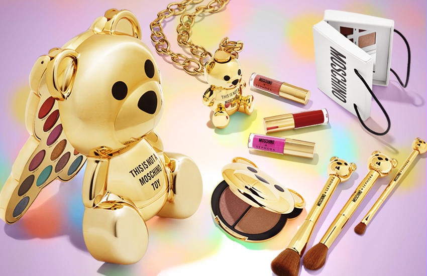 Bilderesultat for moschino + sephora collection