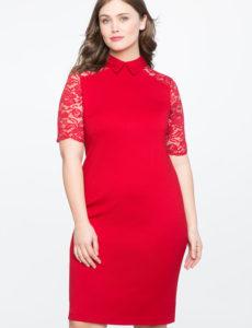 red plus size dresses vestidos rojos de talla grande