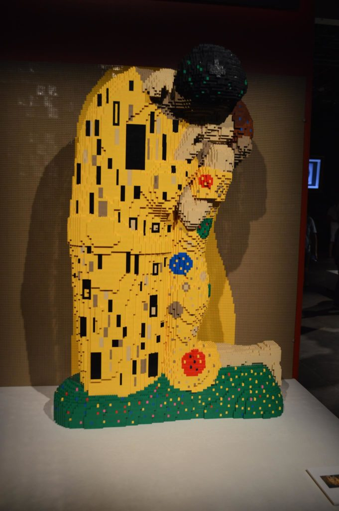 the art of the brick exhibit in downtown tampa