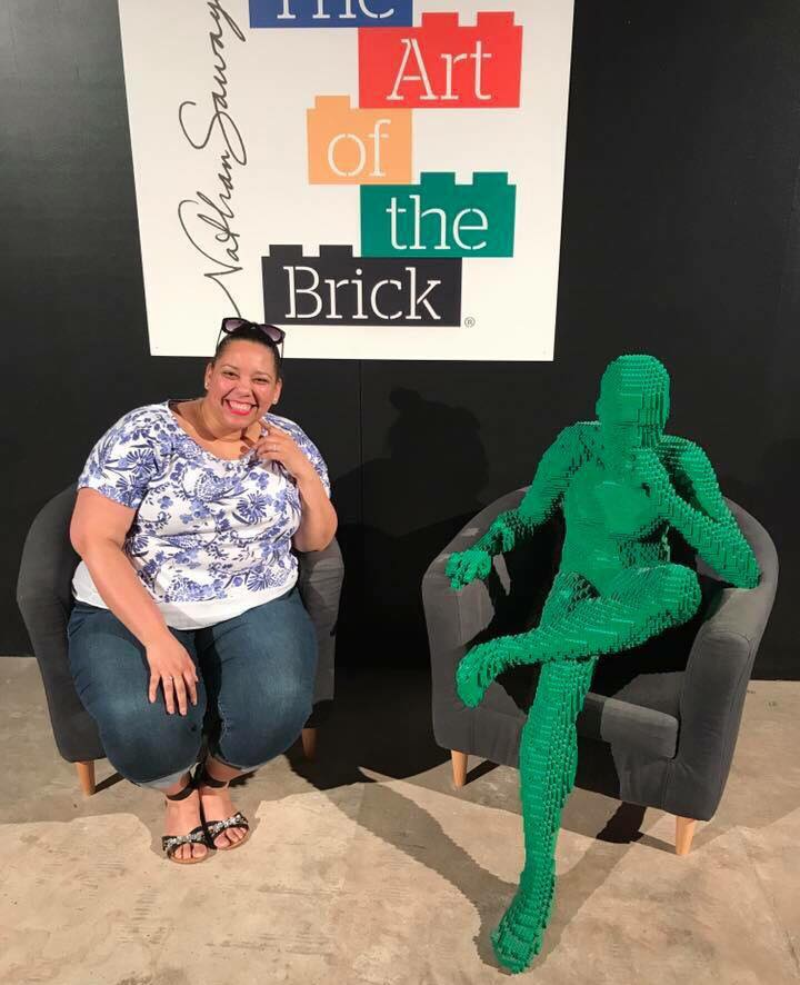 the art of the brick exhibit in tampa florida