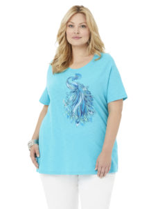 sequin plus size tee from catherines plus sizes