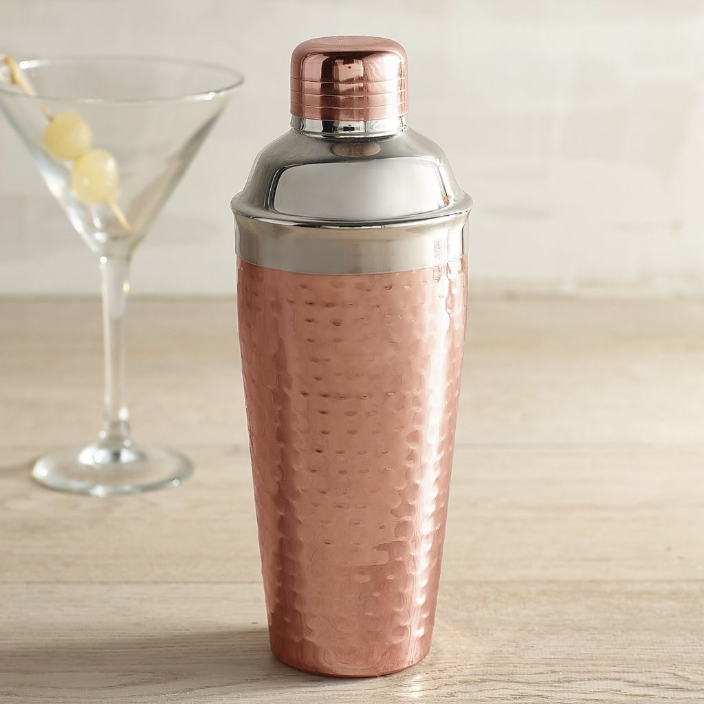 hammered cocktail shaker