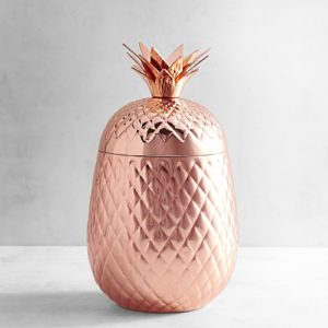 copper pineapple ice bucket from pier 1