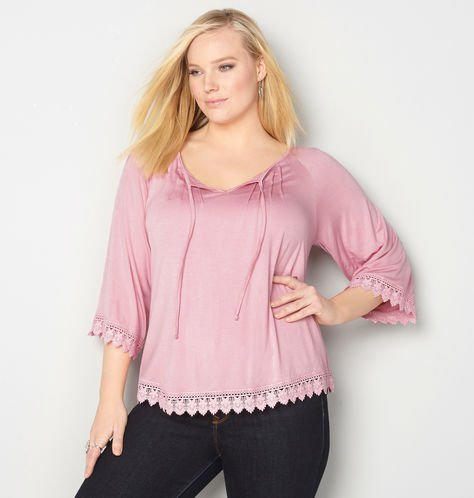 plus-size-peasant-top