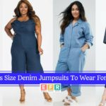 8 Plus Size Denim Jumpsuits To Wear For Fall