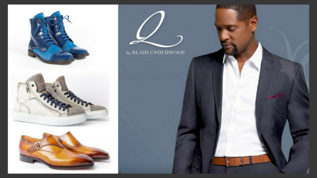 Q by Blair Underwood Shoe Collection