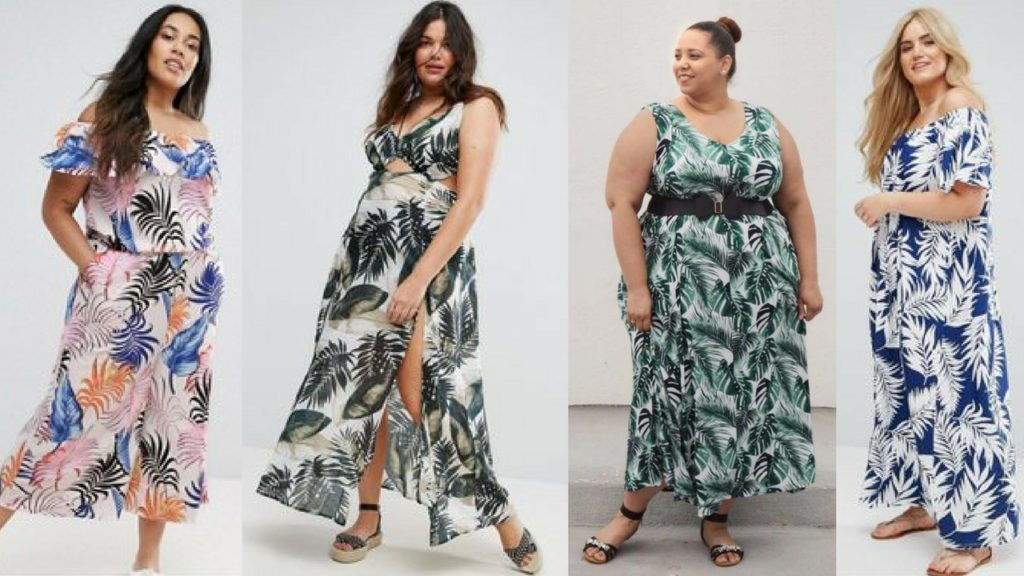 plus-size-palm-leaf-maxi-dresses