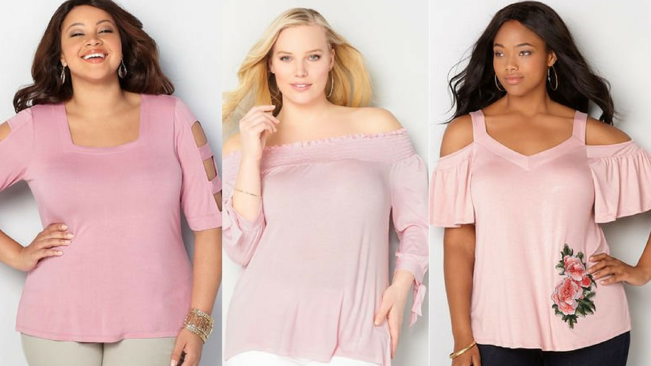 c75fbe9f4ff Blush Life  10 Plus Size Blush Color Tops from Avenue Plus ...