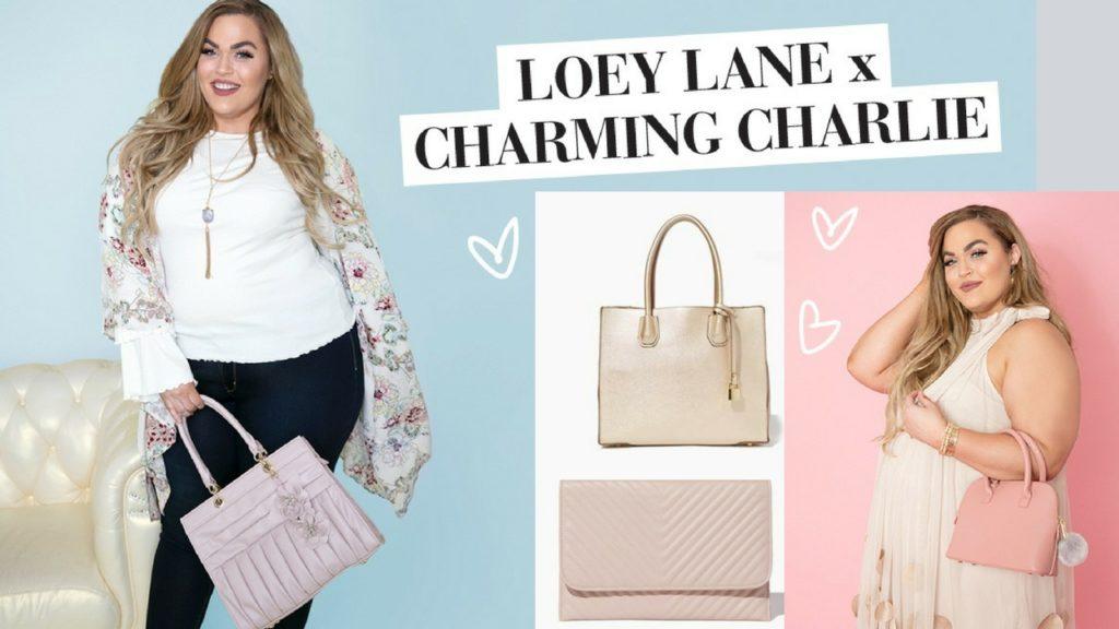 loey lane x charming charlie handbag collection