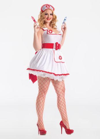 naughty nurse plus size Halloween costume
