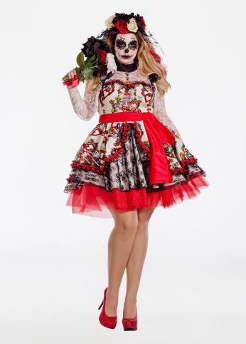 la novia plus size halloween costume from ashley stewart