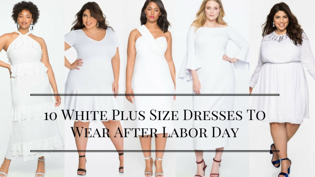10 White Plus Size Dresses To Wear After Labor Day