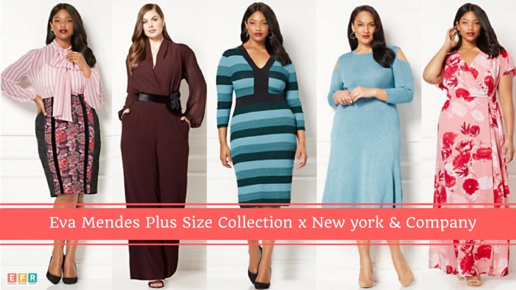 Eva Mendes Plus Size collection x New York & Company