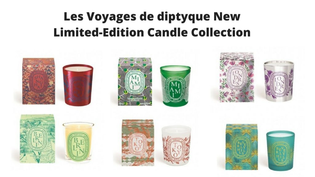 Les Voyages de diptyque New Limited-Edition Candle Collection