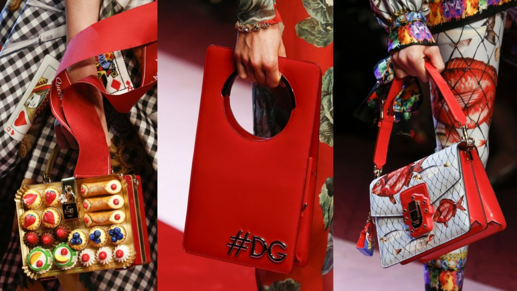 Handbags from D&G SS18