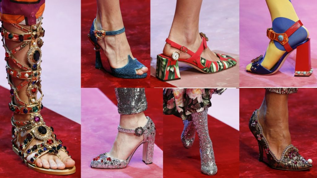 Shoes from D&G SS18