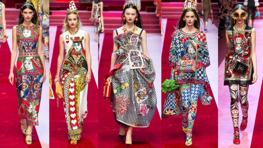 Dolce & Gabbana RTW Spring/Summer 2018 at Milan Fashion Week