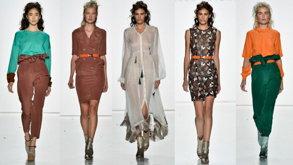 Marcel Ostertag Spring/Summer 2018 at NYFW
