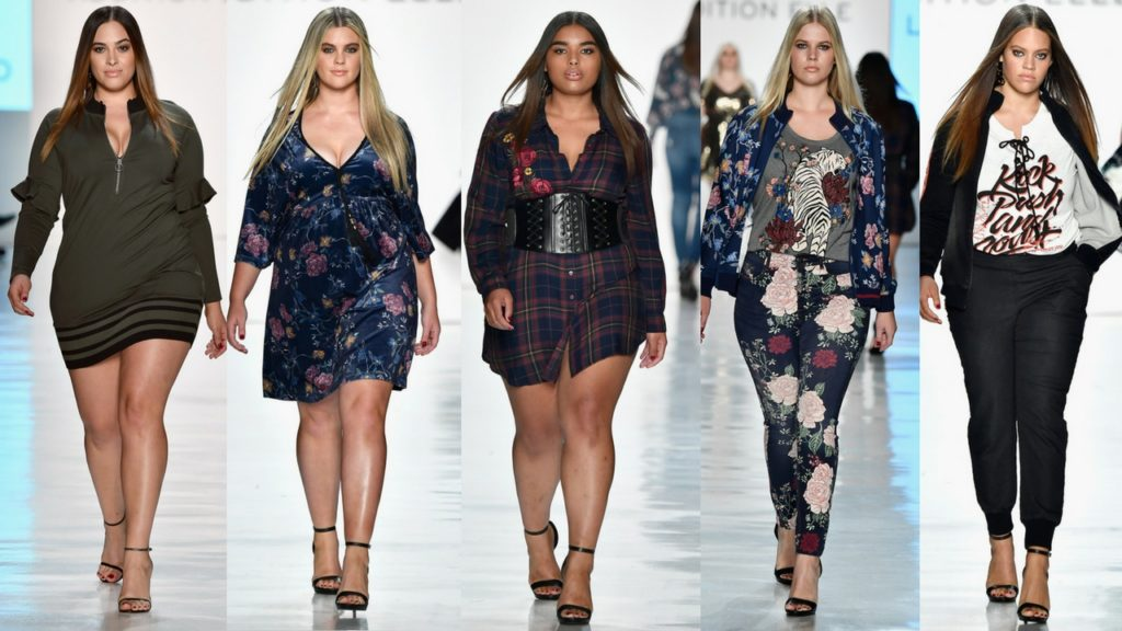 Addition Elle Holiday 2017 Collection at NYFW. Photo Credit Getty Photography, Frazer Harrison