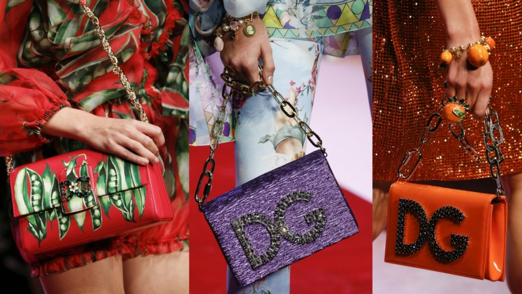 Handbags from Dolce & Gabbana Spring Summer 2018