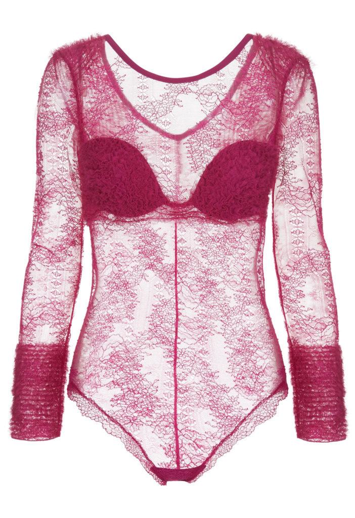 la perla lace bodysuit